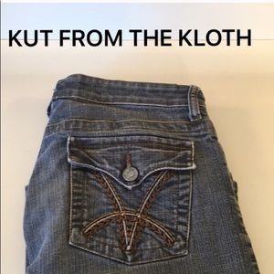 ⭐️KUT STRETCH BOOTCUT JEANS 💯AUTHENTIC